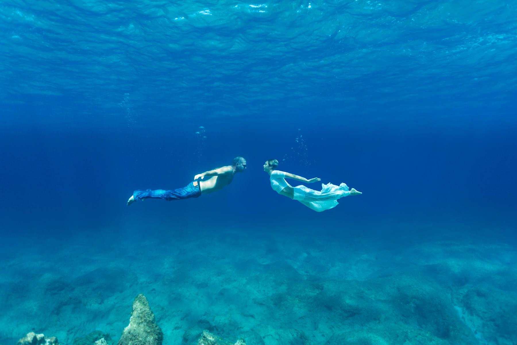 underwater portraits b