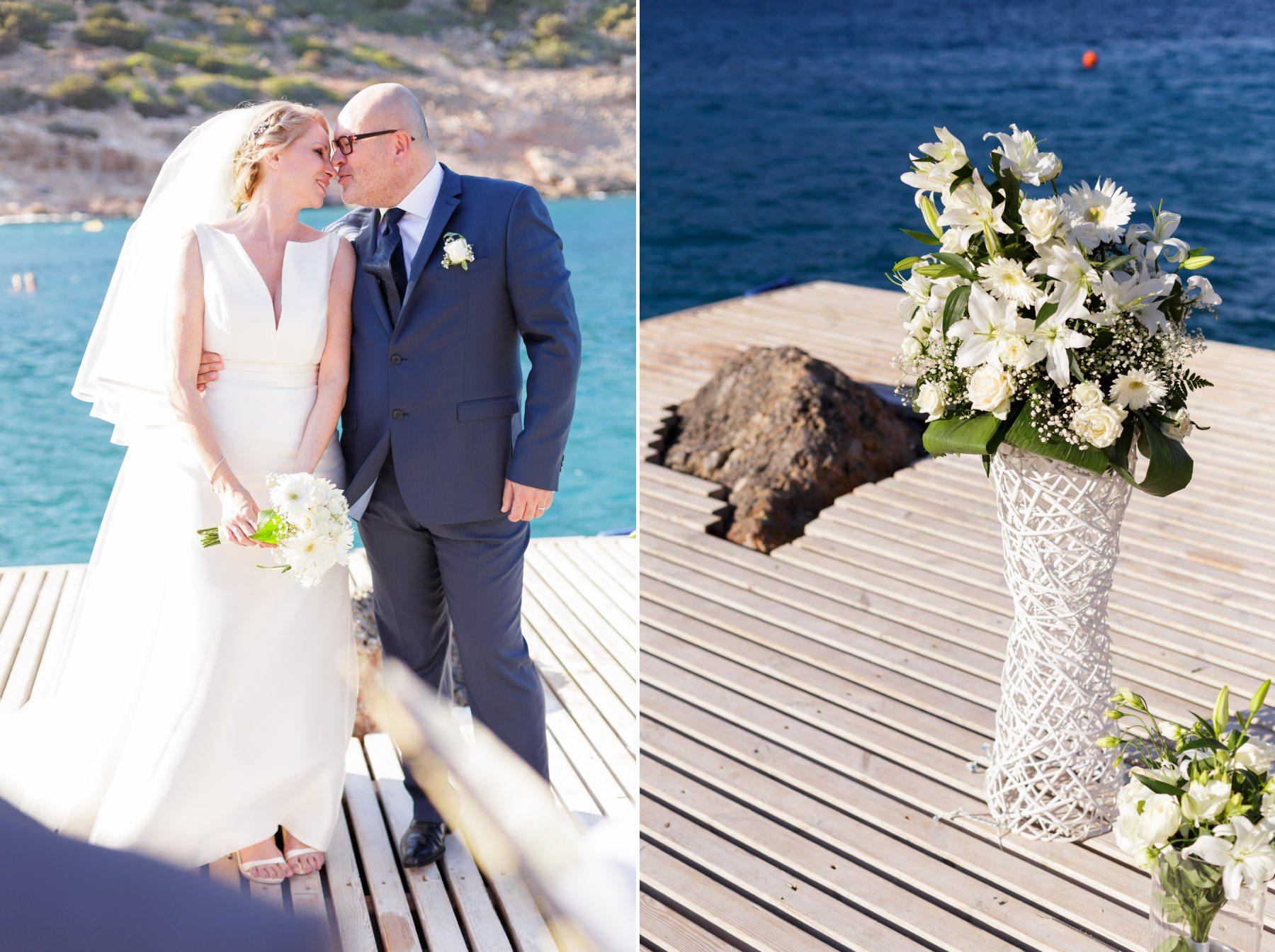 –Ένας αξιαγάπητος γάμος στην παραλία –Φανταστικός γάμος σε νησί  –Φωτογράφηση ενός υπέροχου ζευγαριού στα Χανιά 2d500df4e44