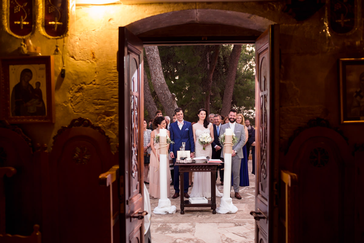 wedding in Profitis Ilias church Chania