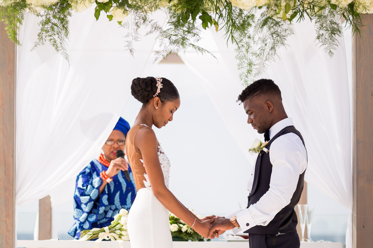 african wedding ceremony