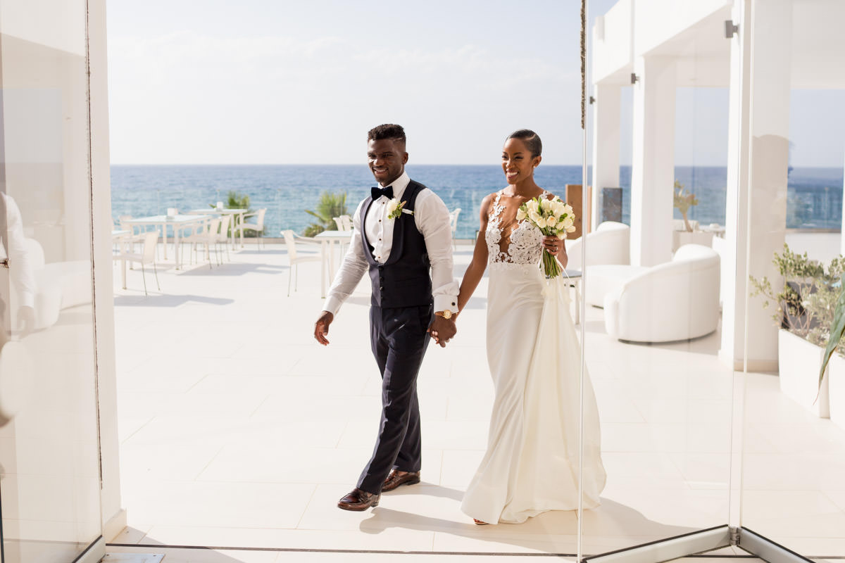 african wedding in Crete