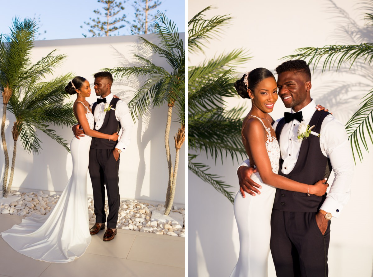 wedding portraits in Grecotel White palace