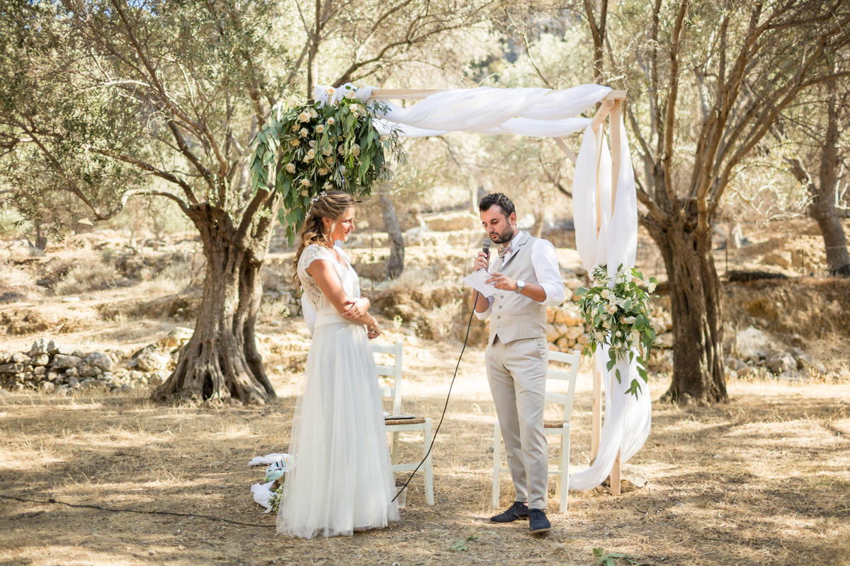 ceremony venue in Crete