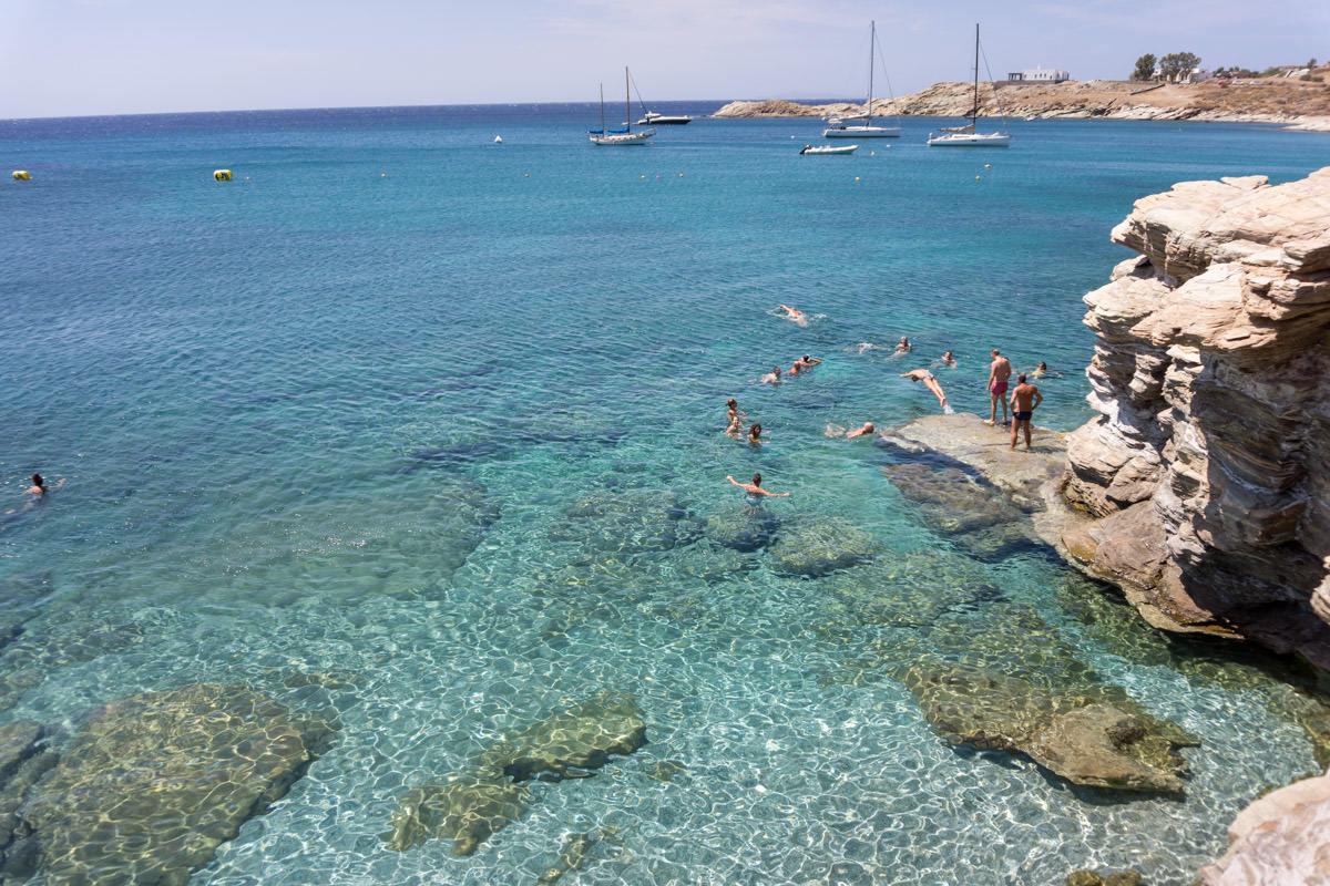 pre-wedding party on a beach in Greece