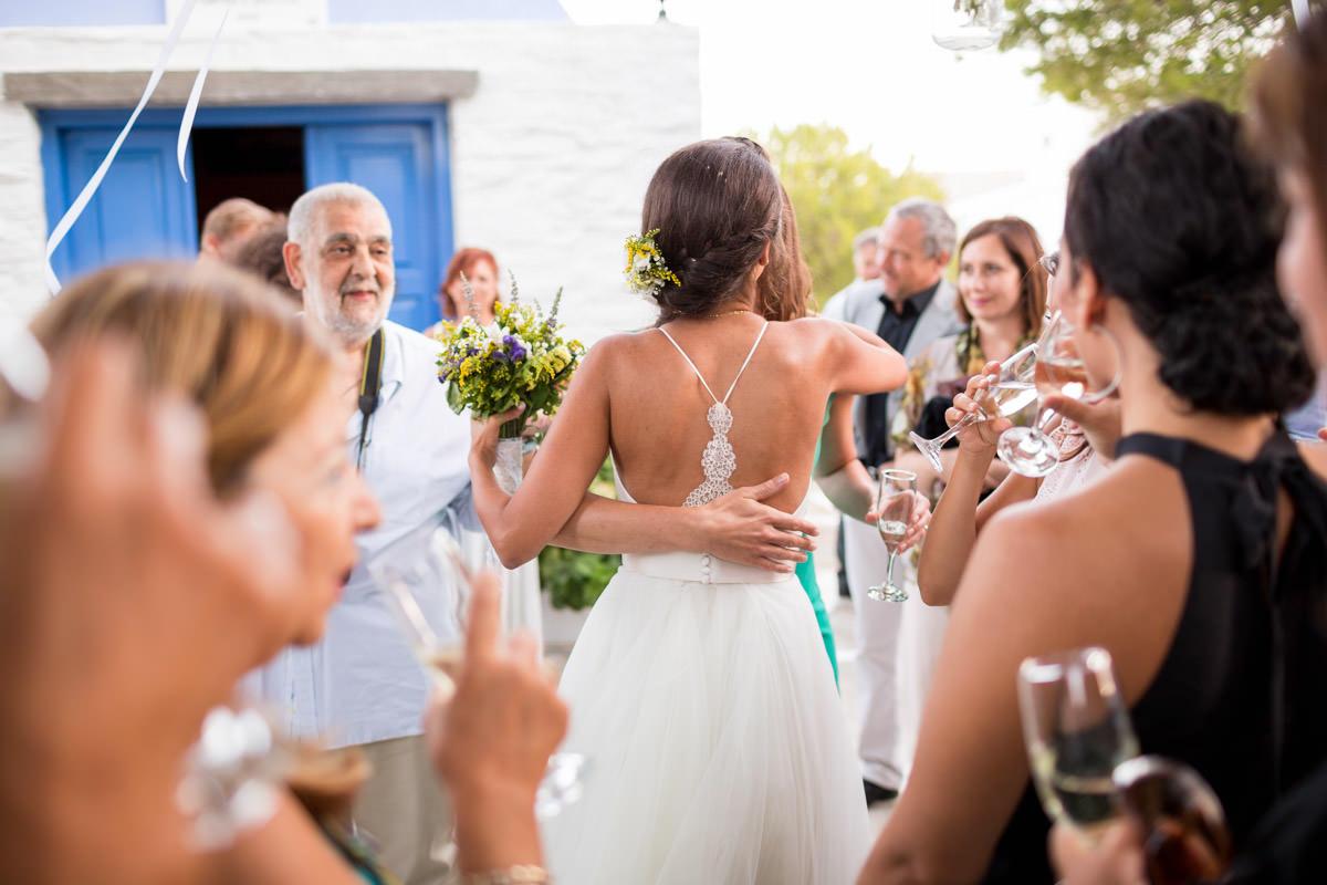 wedding reception Greece