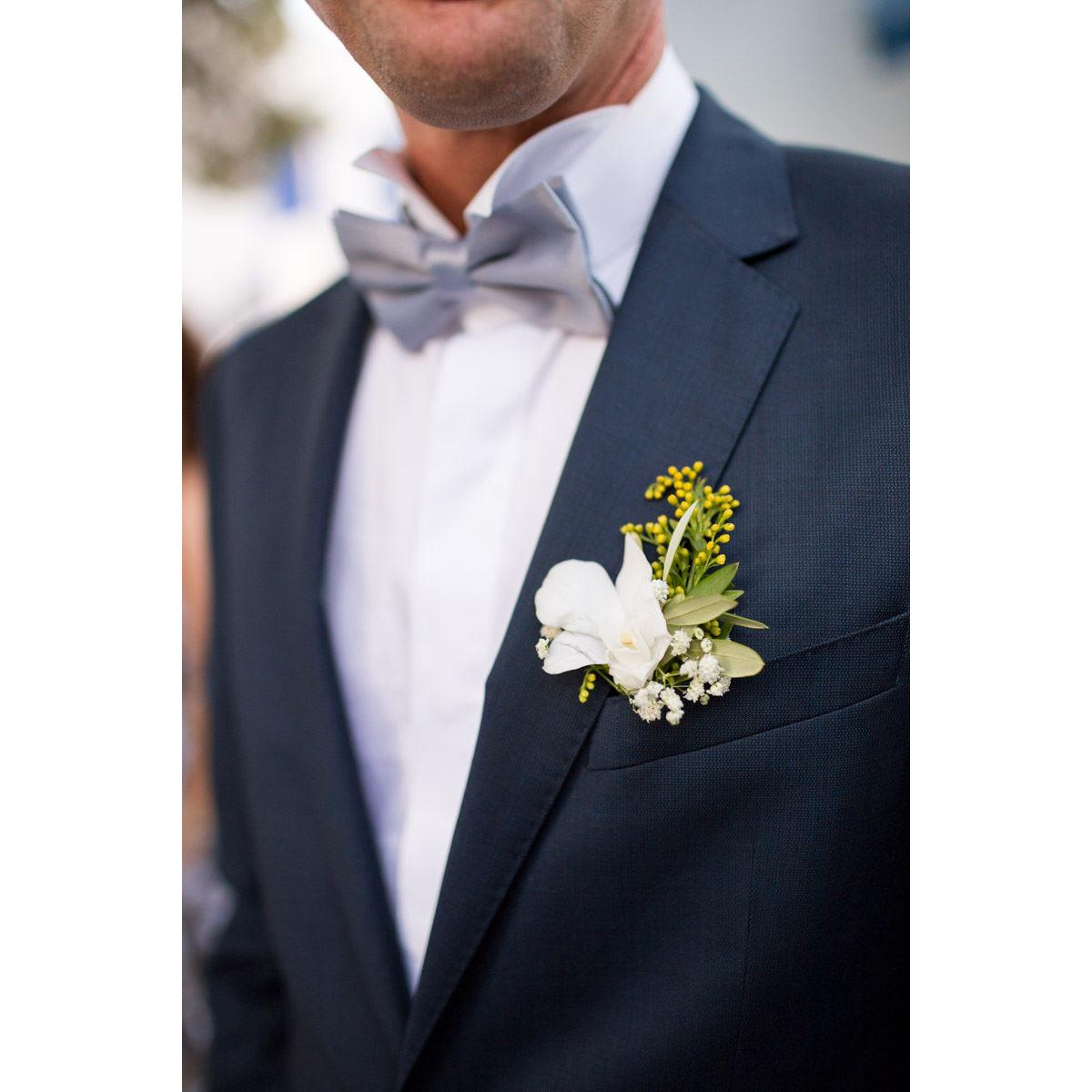 boutonniere greek wedding