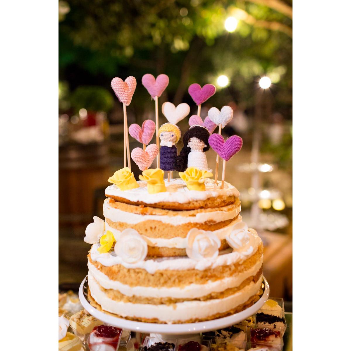wedding cake in Greece