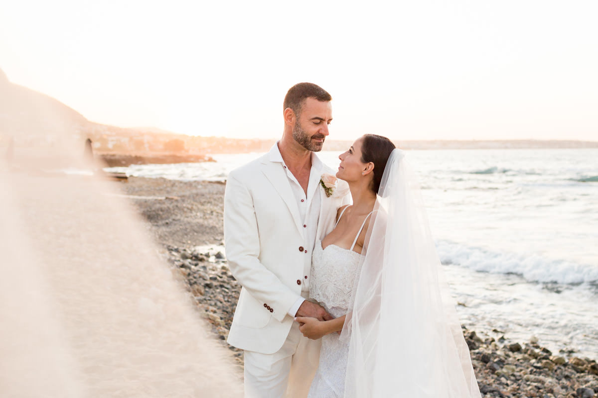 seaside wedding in Greece