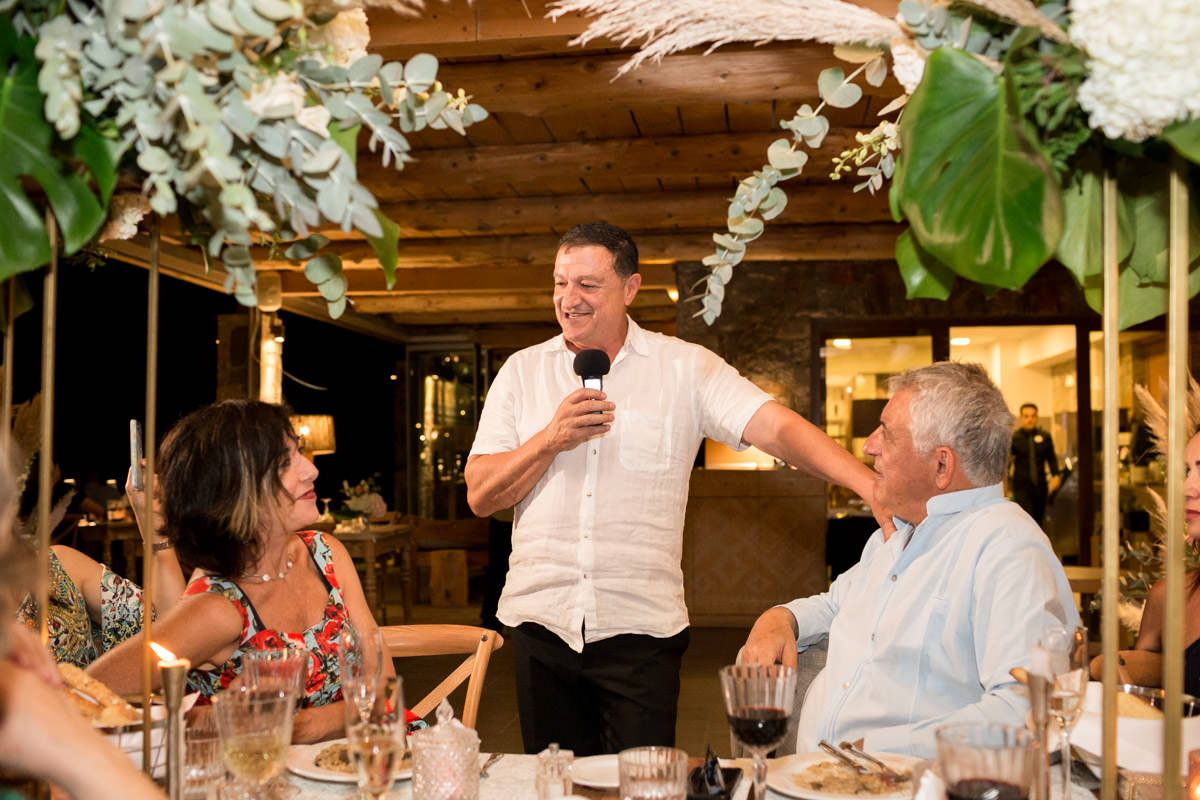 wedding speeches in Greece