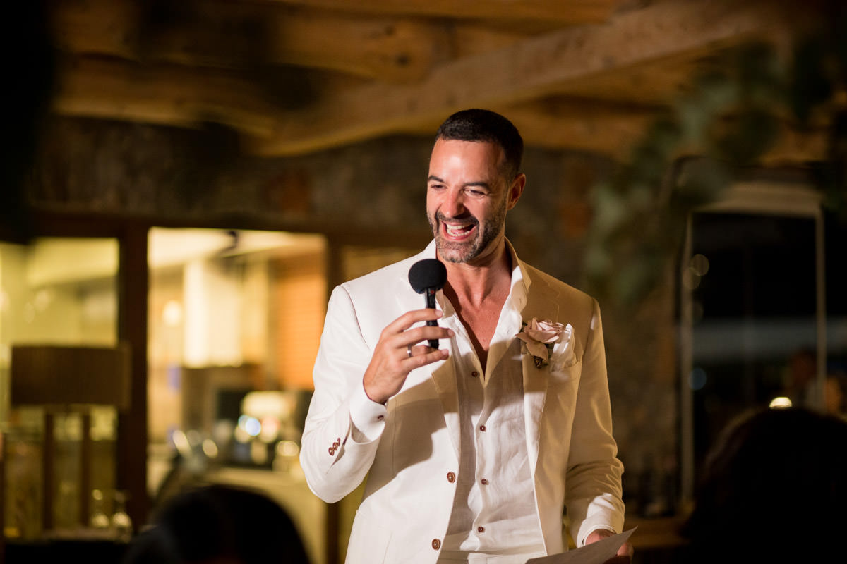 groom speech in Greece
